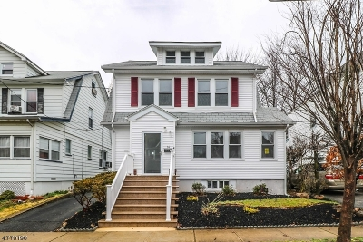 Maplewood Twp. Single Family Home For Sale: 14 William St