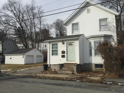 Boonton Town Multi Family Home For Sale: 324 Mechanic St