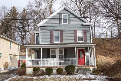 Morristown Town Single Family Home For Sale: 22 Garden St