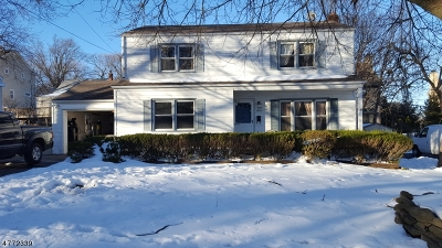 West Orange Twp. Single Family Home For Sale: 7 Sunnyside Rd