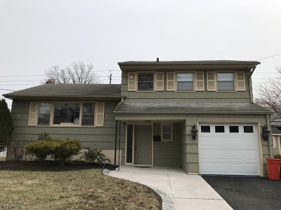 Roselle Park Boro Single Family Home For Sale: 328 Reindel Pl
