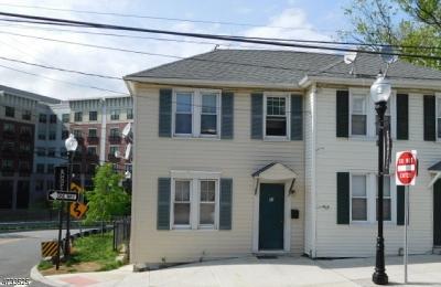 Morristown Condo/Townhouse For Sale: 41 Clinton Pl