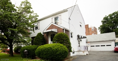 Nutley Twp. Single Family Home For Sale: 315 Bloomfield Ave