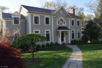 Chatham Boro Single Family Home For Sale: 14 Highland Ave