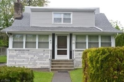 Parsippany Single Family Home For Sale: 47 Nokomis Ave