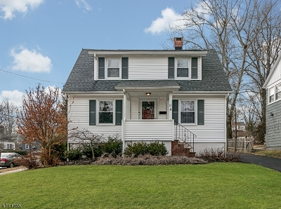 Chatham Boro Single Family Home For Sale: 12 Overlook Rd