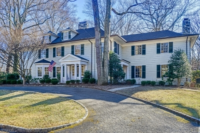 Millburn Twp. Single Family Home For Sale: 66 Windermere Terrace