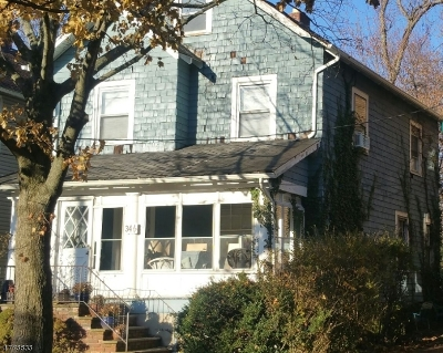 Montclair Twp. Single Family Home For Sale: 34-1/2 Central Ave