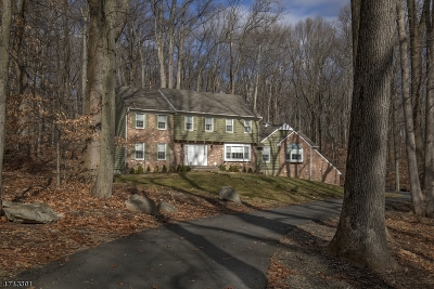Califon Boro, Tewksbury Twp. Single Family Home For Sale: 27 Parsonage Lot Rd