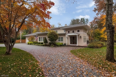 Harding Twp. Single Family Home For Sale: 34 Kitchell Road