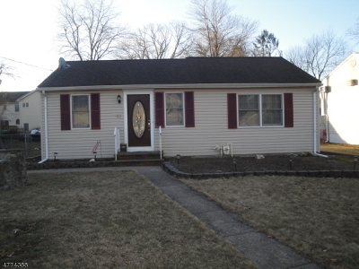 Parsippany Single Family Home For Sale: 62 Haddon Rd