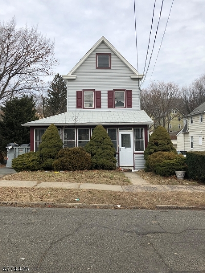 Nutley Twp. Single Family Home For Sale: 42 Race St