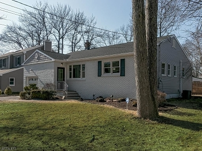 Scotch Plains Twp. Single Family Home For Sale: 2125 Meadowview Rd