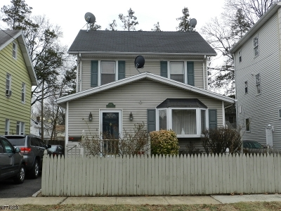 Hillside Twp. Single Family Home For Sale: 64 Mading Ter