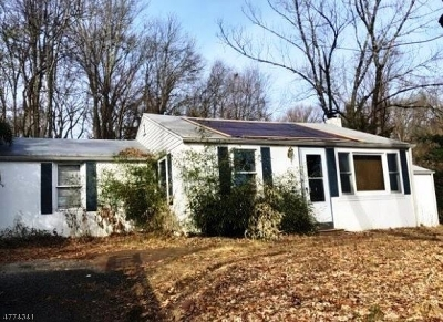 Glen Gardner Boro, Hampton Boro, Lebanon Twp. Single Family Home For Sale: 300 Meiers Ln