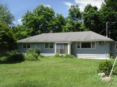 Glen Gardner Boro, Hampton Boro, Lebanon Twp. Single Family Home For Sale: 27 Lackawanna St