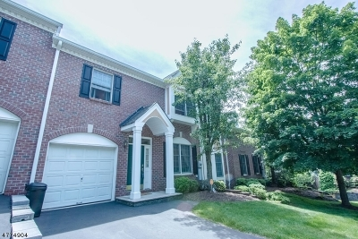 Wayne Twp. Condo/Townhouse For Sale: 86 Summer Hill Rd