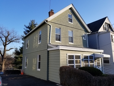 West Orange Twp. Single Family Home For Sale: 122 Watchung Ave