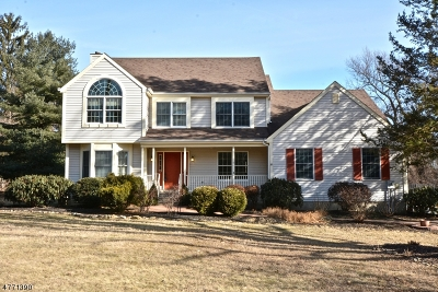 Glen Gardner Boro, Hampton Boro, Lebanon Twp. Single Family Home For Sale: 108 Forest Drive