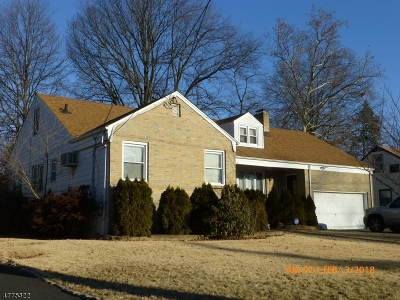 Hillside Twp. Single Family Home For Sale: 209 Wilder St