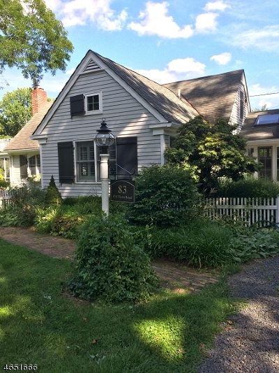 Basking Ridge Rental For Rent: 83 Old Farm Road