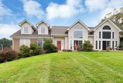 Glen Gardner Boro, Hampton Boro, Lebanon Twp. Single Family Home For Sale: 432 W Hill Rd