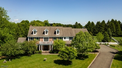 Califon Boro, Tewksbury Twp. Single Family Home For Sale: 4 Field Ln