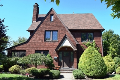 Glen Rock Boro Single Family Home For Sale: 44 Ashton Pl
