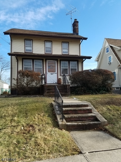 Westfield Town NJ Single Family Home For Sale: $399,900