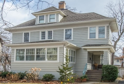 Montclair Twp. Single Family Home For Sale: 117 Edgemont Rd.