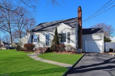 Kenilworth Boro Single Family Home For Sale: 626 Summit Ave