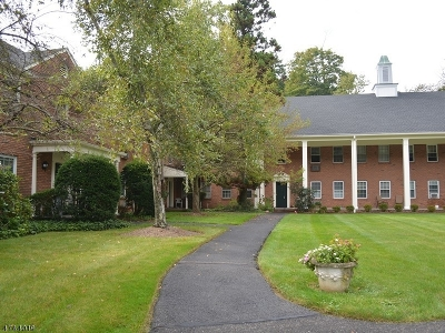 Bernardsville Boro Rental For Rent: 132 Claremont Rd, Unit 2d #D