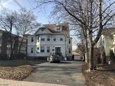 Cranford Twp. Single Family Home For Sale: 211 Miln St
