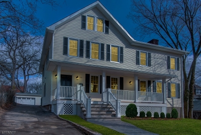 Maplewood Twp. Single Family Home For Sale: 115 Baker St