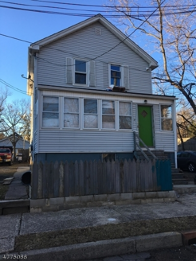 West Orange Twp. Multi Family Home For Sale: 3 Meade St