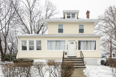 Belleville Twp. Single Family Home For Sale: 204-206 Washington Ave