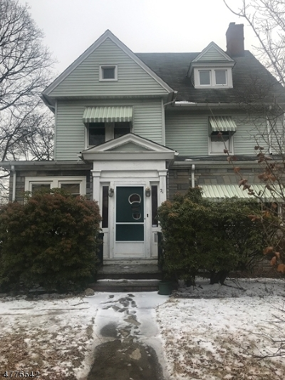 Montclair Twp. Single Family Home For Sale: 71 Elm Street