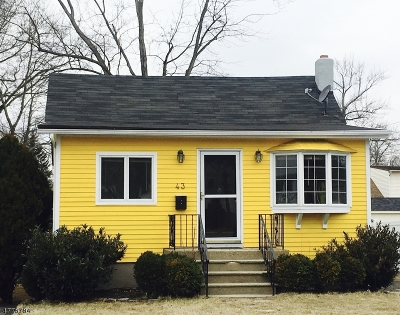 Parsippany-Troy Hills Twp. Single Family Home For Sale: 43 Marmora Rd