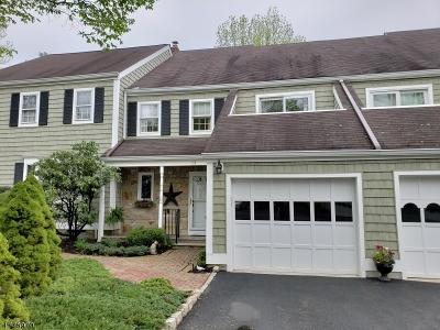 Mendham Boro, Mendham Twp. Condo/Townhouse For Sale: 15 Wexford Dr