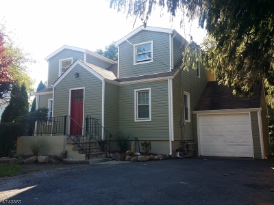 Parsippany Single Family Home For Sale: 414 N Beverwyck Rd