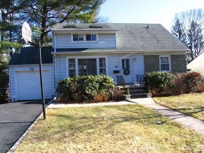 Millburn Twp. Single Family Home For Sale: 68 Myrtle Ave