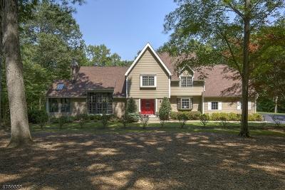 Mendham Boro, Mendham Twp. Single Family Home For Sale: 7 Cedar Ln
