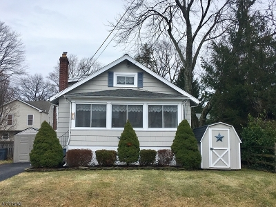 Fanwood Boro Single Family Home For Sale: 18 Stewart Pl