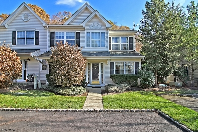 Bedminster Twp. Condo/Townhouse For Sale: 282 Thistle Ln