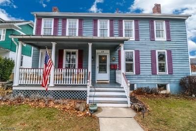 Flemington Boro Single Family Home For Sale: 89 Broad St