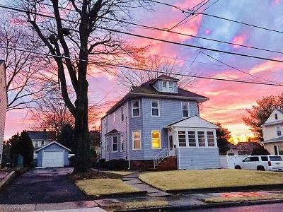 Nutley Twp. Single Family Home For Sale: 87 Hawthorne Ave