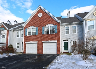 Montville Twp. Condo/Townhouse For Sale: 87 Heritage Ct