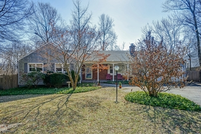 Chatham Twp. Single Family Home For Sale: 92 Ormont Rd