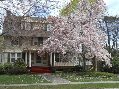 Montclair Twp. Single Family Home For Sale: 31 Clinton Ave
