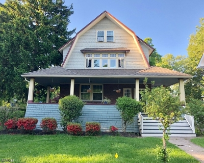 Montclair Twp. Single Family Home For Sale: 15 Godfrey Rd